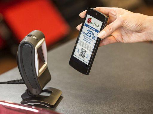 Honeywell Genesis 7850g scanning mobile phone