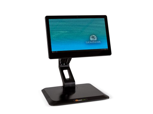 c130T commercial tablet on included stand