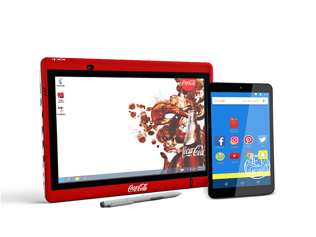 Custom branded tablets personalized for you