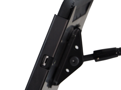 Adjustable viewing angle with Optional Goose Neck bracket