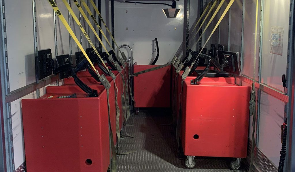 Easy Storage of POS Terminals
