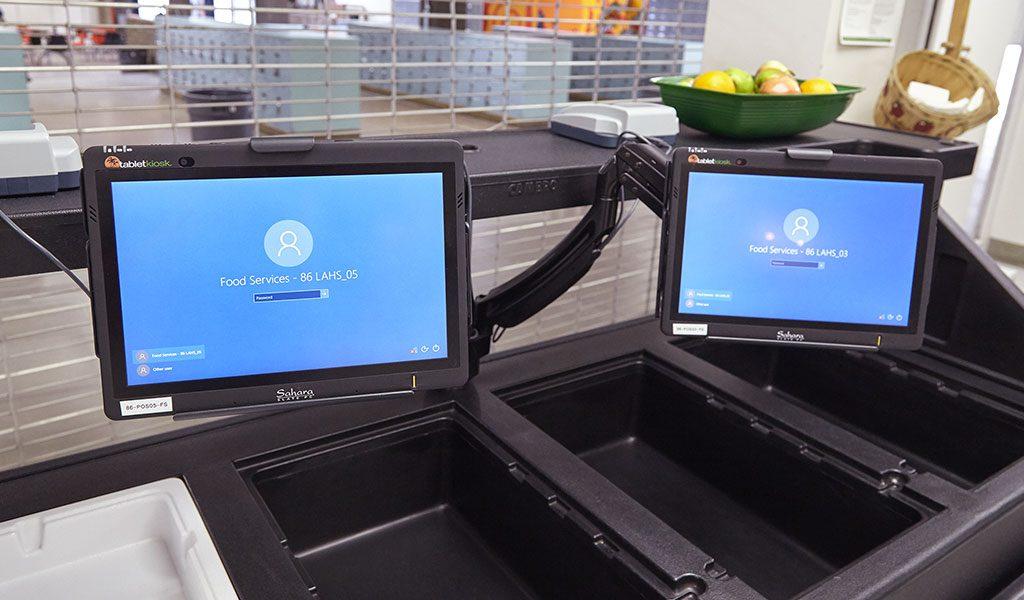 Tablet POS Terminals up close