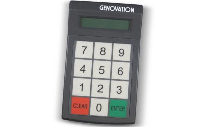 Genovation MiniTerm 904-RJ 12-Key Membrane Pin Pad