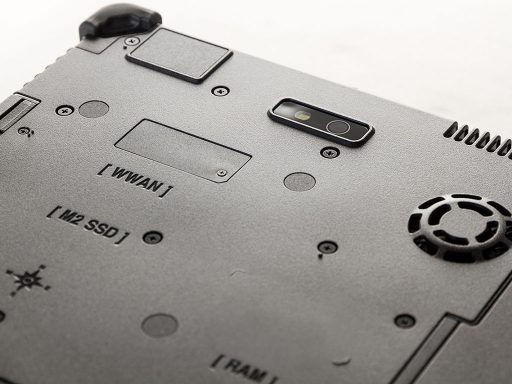 Ares TufTab T11X rugged tablet - back close-up