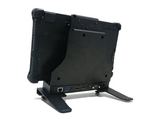 Ares TufTab T11X Desktop Dock back