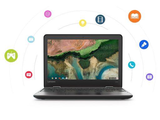 Lenovo 300e Chromebook (Gen 2) front (open)