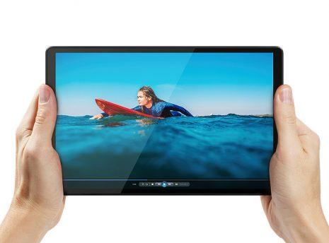 Lenovo Tab K10 in hands