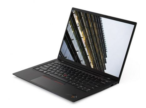 Lenovo ThinkPad X1 Carbon G9 front to left (open)