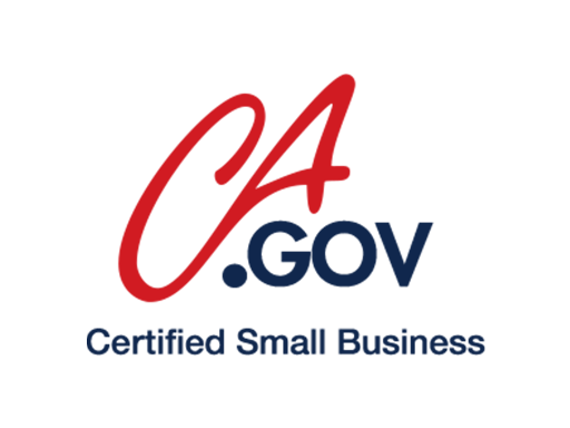 CA Certified Small Business logo
