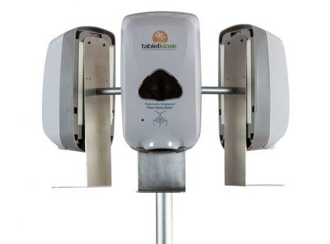 Mobile Hand Sanitizer Station (close-up)