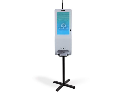 "21.5"" Hand Sanitizer and Digital Signage Kiosk (free standing)"