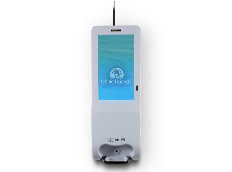 """21.5"""" Hand Sanitizer and Digital Signage Kiosk (wall mounted)"""