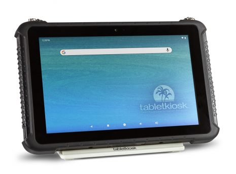 Ares TufTab a10XTC rugged tablet on simple stand