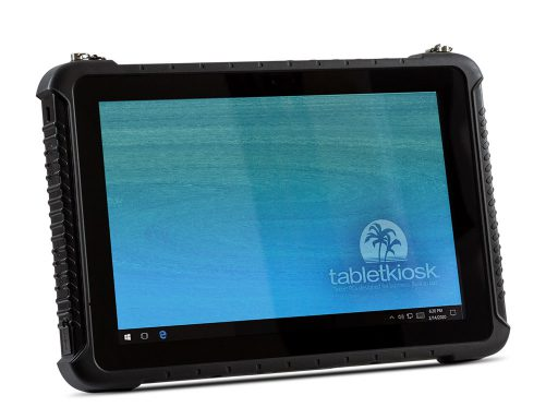 Ares TufTab i10XTC Rugged Tablet (front to right)