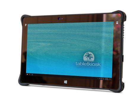 Ares TufTab T11X rugged tablet (front to left)