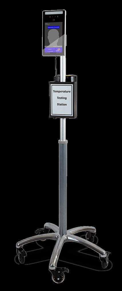 TK2Go with TST800 Temperature Screening Terminal