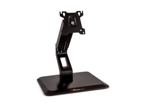 Touchscreen pedestal stand front facing